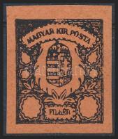1900 Turul bélyegterv, nagyon ritka