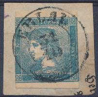 1851 Hírlapbélyeg kivágáson ERLAU