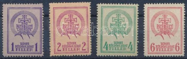 1938 Sopron tábori küldöncjárat teljes sor, nagyon ritka! (70.000++)