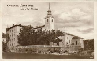 Crikvenica, Zupna crkva / parish church (glueamark)