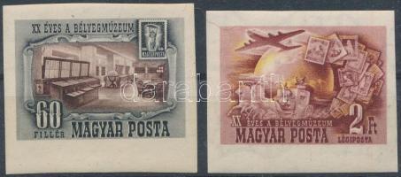 1950 Bélyegmúzeum ívszéli vágott sor (16.000)