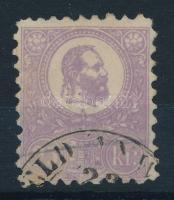1871 Kőnyomat 10kr IV. típus ibolya szín (45.000)