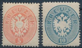 1863 5kr, 10kr újnyomatok