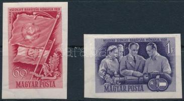 1951 Magyar-szovjet vágott sor (9.000)