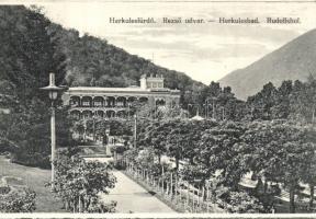Herkulesfürdő, Rezső udvar, Baile Herculane, Rezső udvar
