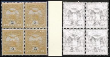 1908 Turul 2f számvízjellel, nagy ritkaság! (76.000) /