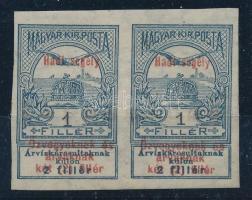1914 Hadi segély 1f vágott pár