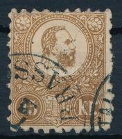 1871 Kőnyomat 15kr (29.000) (felül foghiány/ missing perf. above)