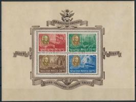 1947 Roosevelt blokkpár (50.000) (ráncok / creases)