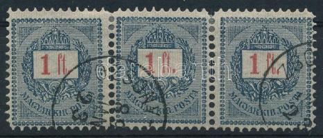 1888 1Ft hármascsík