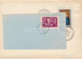 1949/1984 Puskin és Karácsony FDC vágott bélyegek