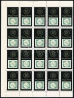 1980 Bélyegmúzeum hajtott teljes ív (10.000)