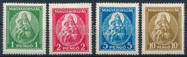 1932 Nagy madonna szép falcos sor (35.000) (2P ránc / crease)