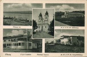 Tihany, Apátsági templom, üdülő, klubház