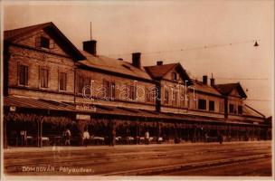 Dombóvár, vasútállomás, I. és II. oszt. étterem és buffet (fl)
