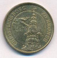 Dánia 2003. 20Kr Al-Br Christiansborg - Margrethe II T:1- Denmark 2003. 20 Kroner Al-Br Christiansborg - Margrethe II C:AU Krause KM#892