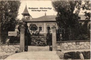 1924 Budapest II. Hűvösvölgy, Hűvösvölgyi Pensio (penzió) (EK)