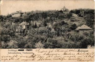 1905 Budapest XII. Svábhegy, villák