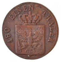 Poroszország 1822B 2pf Cu III. Frigyes Vilmos T:2 Prussia 1822B 2 Pfennig Cu Friedrich Wilhelm III C:XF Krause KM#406