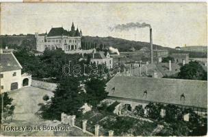 Budapest XXII. Budafok, Törley gyár (ragasztónyom / gluemark)