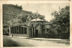 Budapest V. Pesti Vigadó Kioszk Téli helyiségének homlokzata