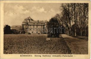 Körmend, Herceg Batthyány várkastély és park (Rb)
