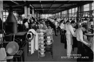 Philadelphia, Finishing Stetson soft hats (John B. Stetson Company)