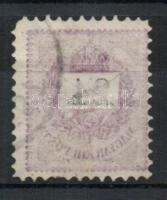 1888 24Kr gépszínátnyomattal (foghiba)