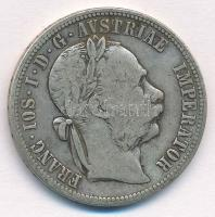 Ausztria 1878. 1Fl Ag Ferenc József T:2-  Austria 1878. 1 Florin Ag Franz Joseph C:VF Krause KM#2222