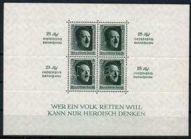 1937 Birodalmi pártnap Mi block 11 (Mi EUR 340.-)