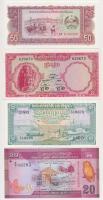 Vegyes: Laosz 1979. 50K + Sri Lanka 2010. 20R + Mianmar 1994. 20K + Kambodzsa 1956-1975 100R + 1R + 5R T:I Mixed: Lao 1979. 50 Kip + Sri Lanka 2010. 20 Rupees + Myanmar 1994. 20 Kyats + Cambodia 1956-1975 100 Riel + 1 Riel + 5 Riel C:UNC Krause KM#29 KM# 123 KM#72 KM#12 KM#4 KM#10