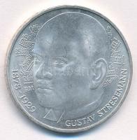 NSZK 1978D 5M Ag Gustav Stresemann születésének 100. évfordulója T:1- FRG 1978D 5 Mark Ag 100th Anniversary - Birth of Gustav Stresemann C:AU Krause KM#147