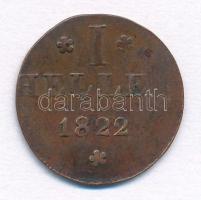 Német Államok/Frankfurt am Main 1822. 1h Cu T:2- German States/Frankfurt am Main 1822. 1 Heller Cu C:VF Krause KM#301