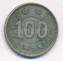 Japán 1959. 100Y Ag T:2 Japan 1959. 100 Yen Ag C:XF Krause Y#78