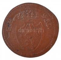 Német Államok / Hesse-Darmstadt 1819. 1pf Cu T:2,2- German States / Hesse-Darmstadt 1819. 1 Pfennig Cu C:XF,VF Krause KM#280