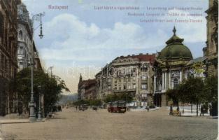 Budapest XIII. körút, Vígszínház, 17-es villamos