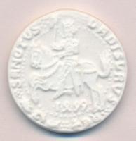 DN II. Ulászló guldiner 1499 porcelán emlékérem (40mm) T:1