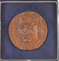~1986. Bajcsy-Zsilinszky Endre 1886-1986 Br emlékplakett dísztokban (100mm) T:1-,2