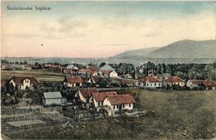 Stubnyafürdő, Túróchévíz, Stubnianske Teplice, Turcianske Teplice; látkép. Kiadja G. Jilovsky / general view