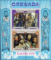 Easter, paintings block, Húsvét, festmények blokk, Ostern, Gemälden Block
