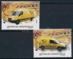 Postage vehicles set, Postai járművek sor
