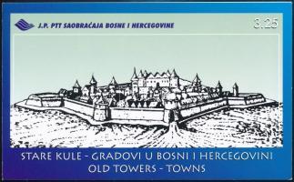 Old towns stamp booklet, Régi városok bélyegfüzet