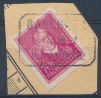 BANKHÁZA postaügynökségi bélyegzés