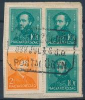 ALSÓSZÖLNÖK postaügynökségi bélyegzés