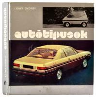 Liener György: Autótípusok. Budapest, 1977, Műszaki Könyvkiadó. Kiadói kartonált papírkötés, számos fekete-fehér fotóval illusztrálva.