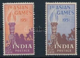 1951 Ázsiai Sport Játékok sor, Asian Sports Games set Mi 219-220