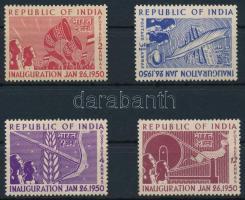 1950 A köztársaság kikiáltása sor, Proclamation of the Republic set Mi 211-214