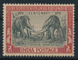 1951 Indiai Földtani Intézet bélyeg, Indian Geological Institute stamp Mi 218