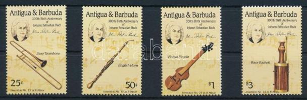 1985 Johann Sebastian Bach sor, Johann Sebastian Bach set Mi 890-893