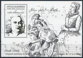 1985 Johann Sebastian Bach blokk, Johann Sebastian Bach block Mi 99